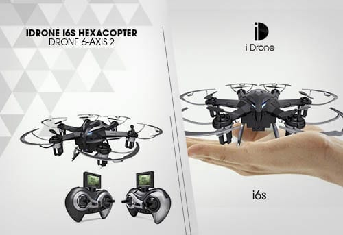 iDrone i6s Hexacopter Drone 6-Axis